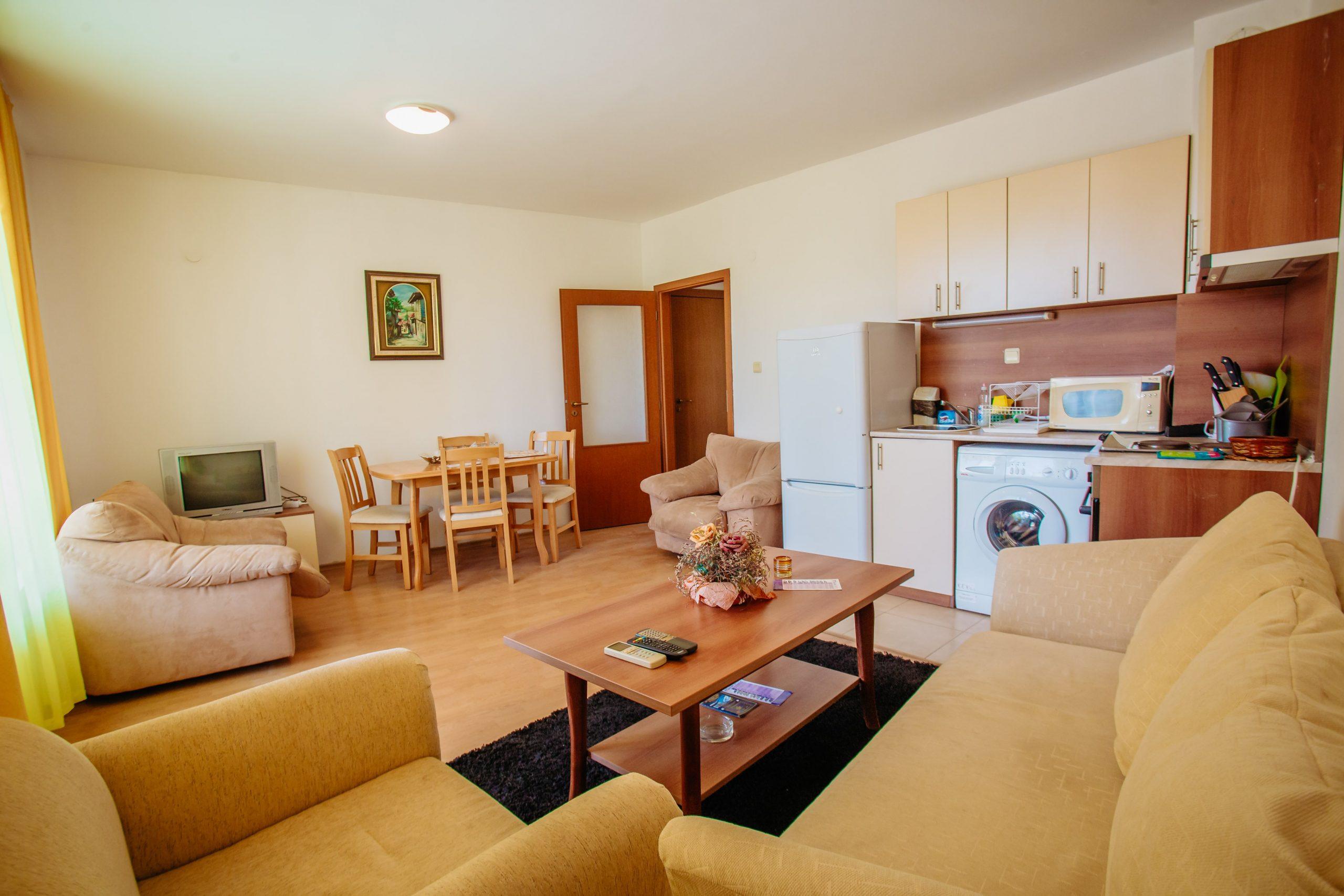 Двустаен апартамент в Слънчев бряг
