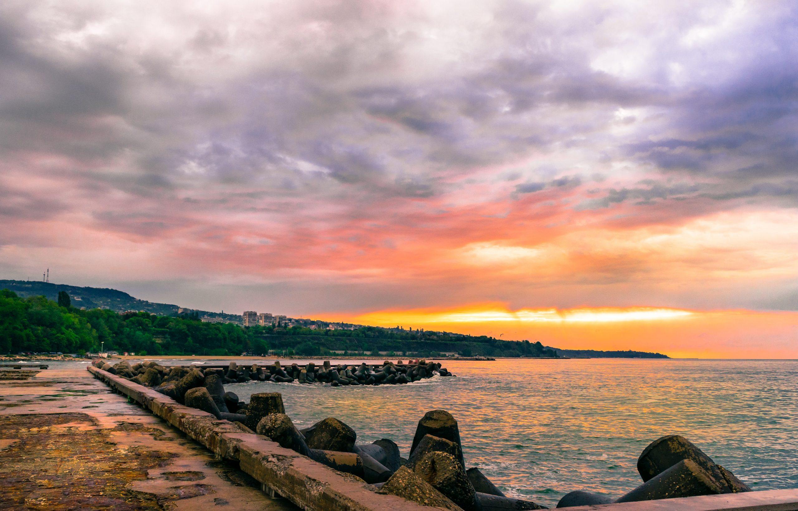 морски бряг във Варна